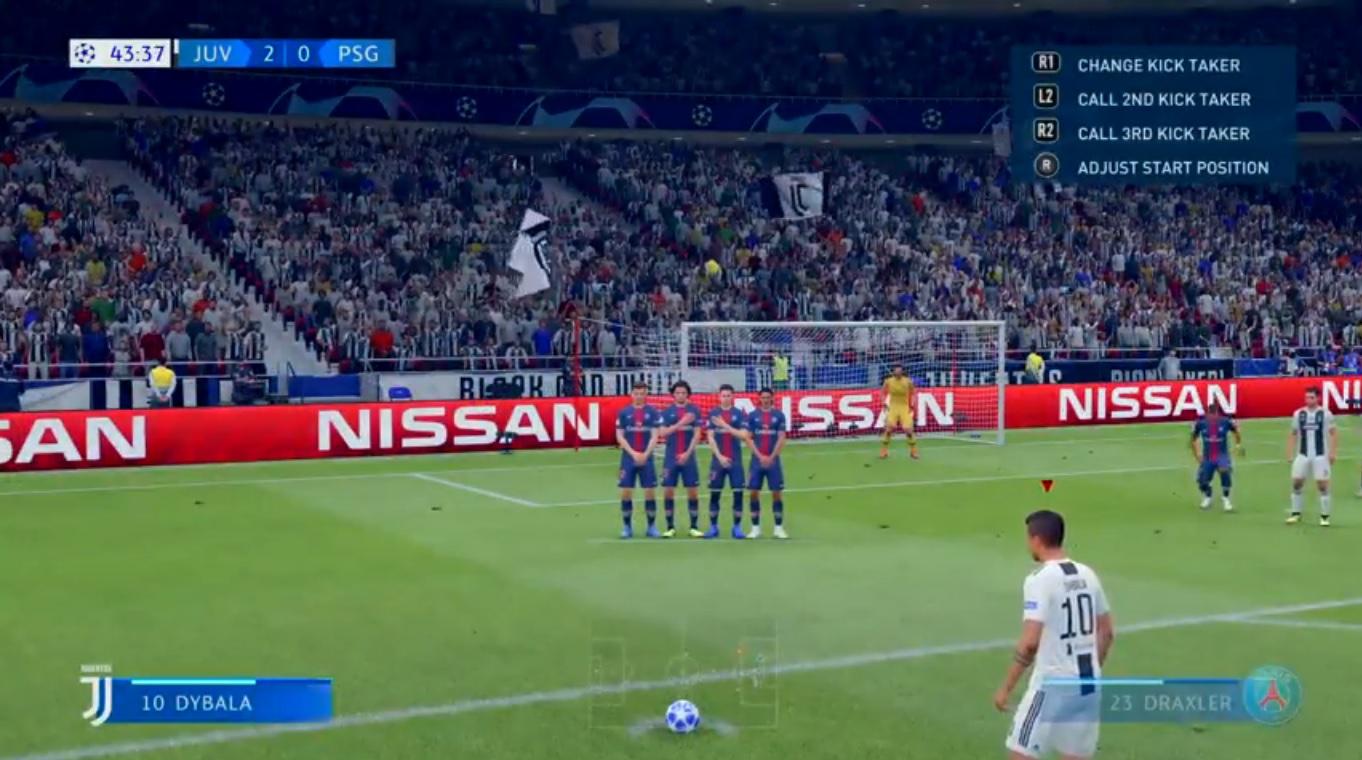Comment tirer des coups francs sur FIFA 20 sur PS4 et Xbox One